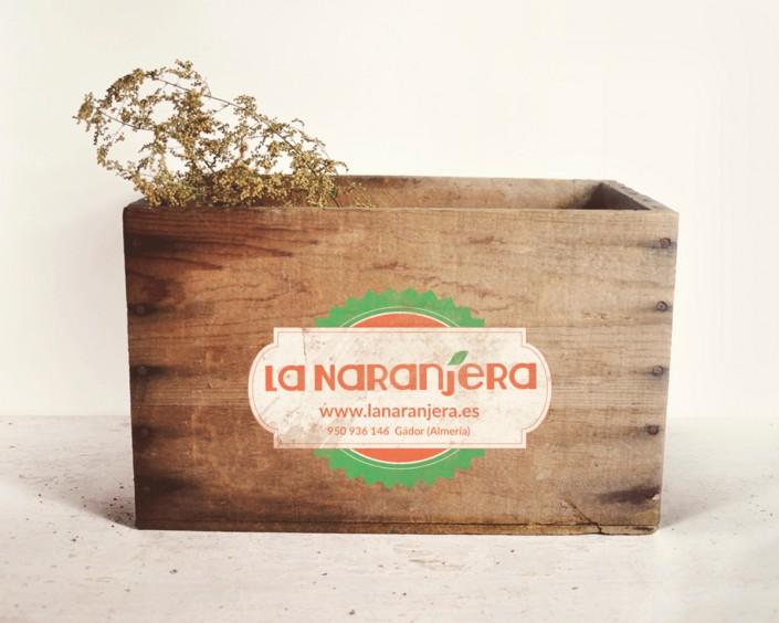 Diseño de Packaging de La Naranjera Venta de naranjas online