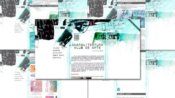 Diseño Web colectivo artístico