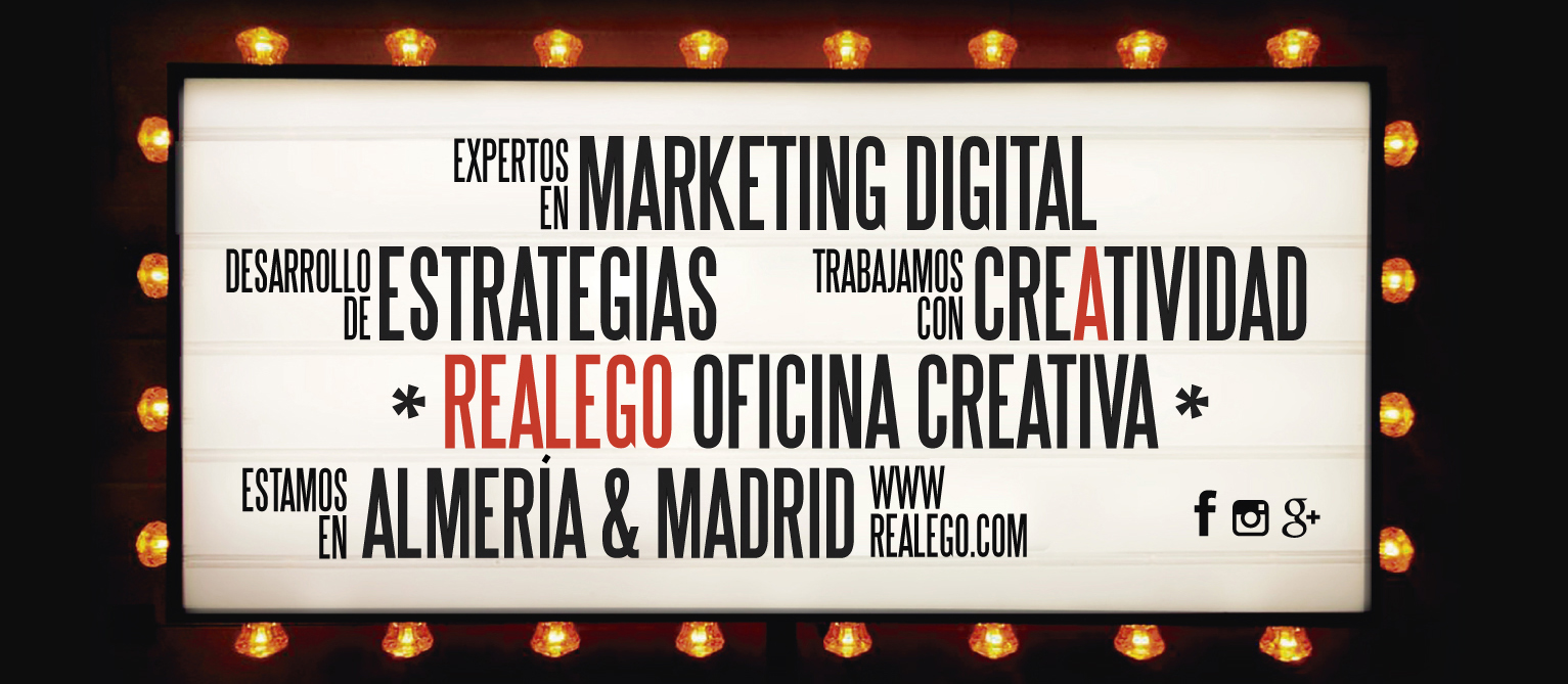 Realego Oficina Creativa - Expertos en Marketing Digital Almería