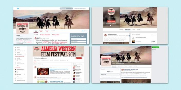 Redes sociales del Almería Western Film Festival