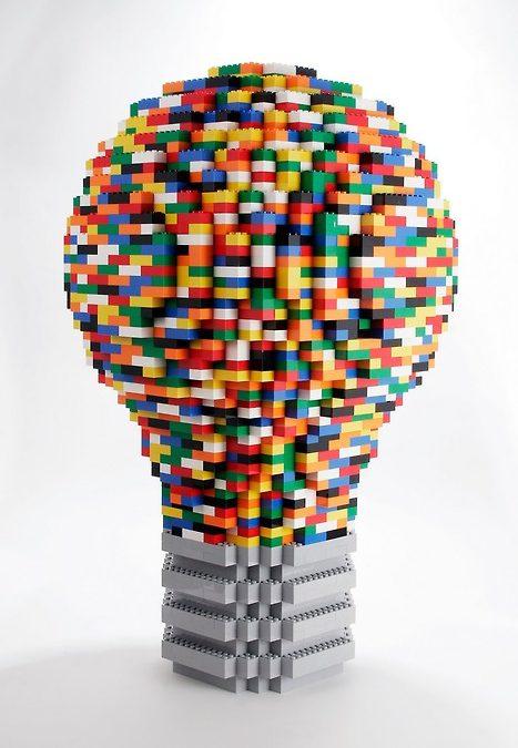 """El """"secreto"""" de la creatividad de Lego."""