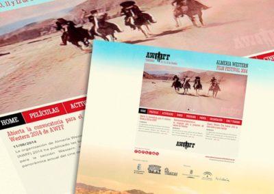 Diseño Web Almería Western Film Festival
