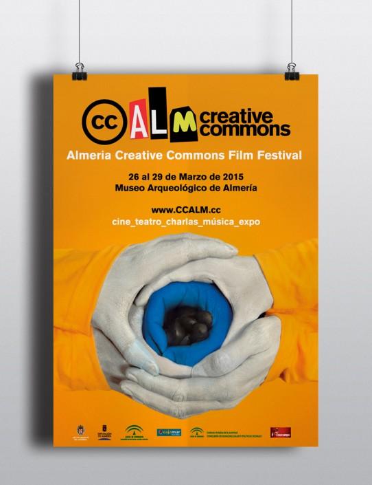 Cartelería para el Festival cine Almería
