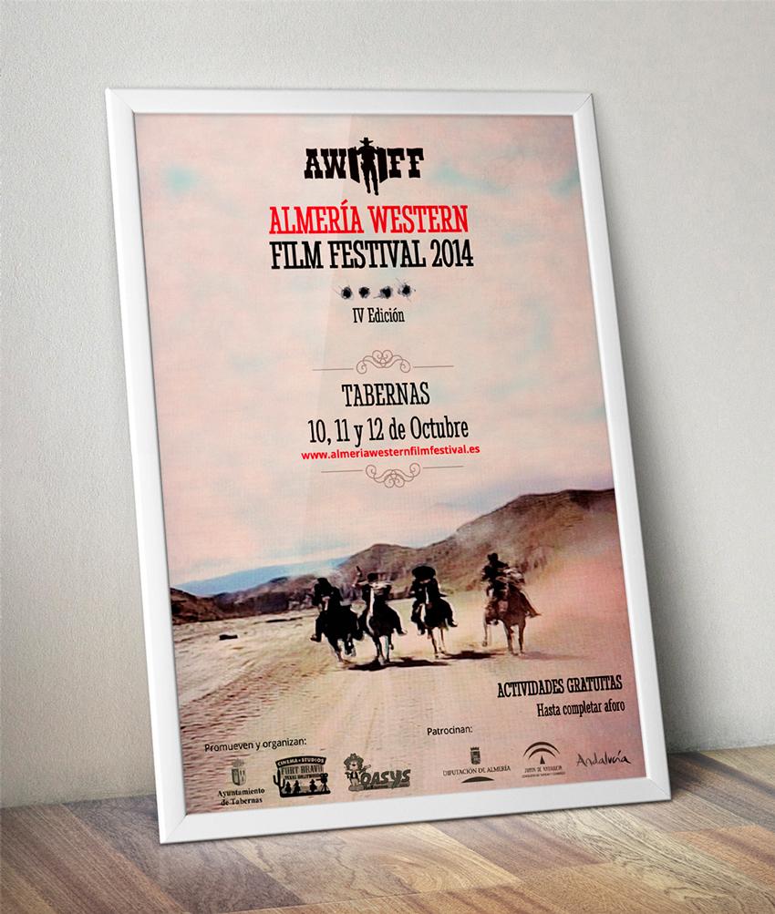 Diseño Cartel IV Edición del Almería Western Film Festival