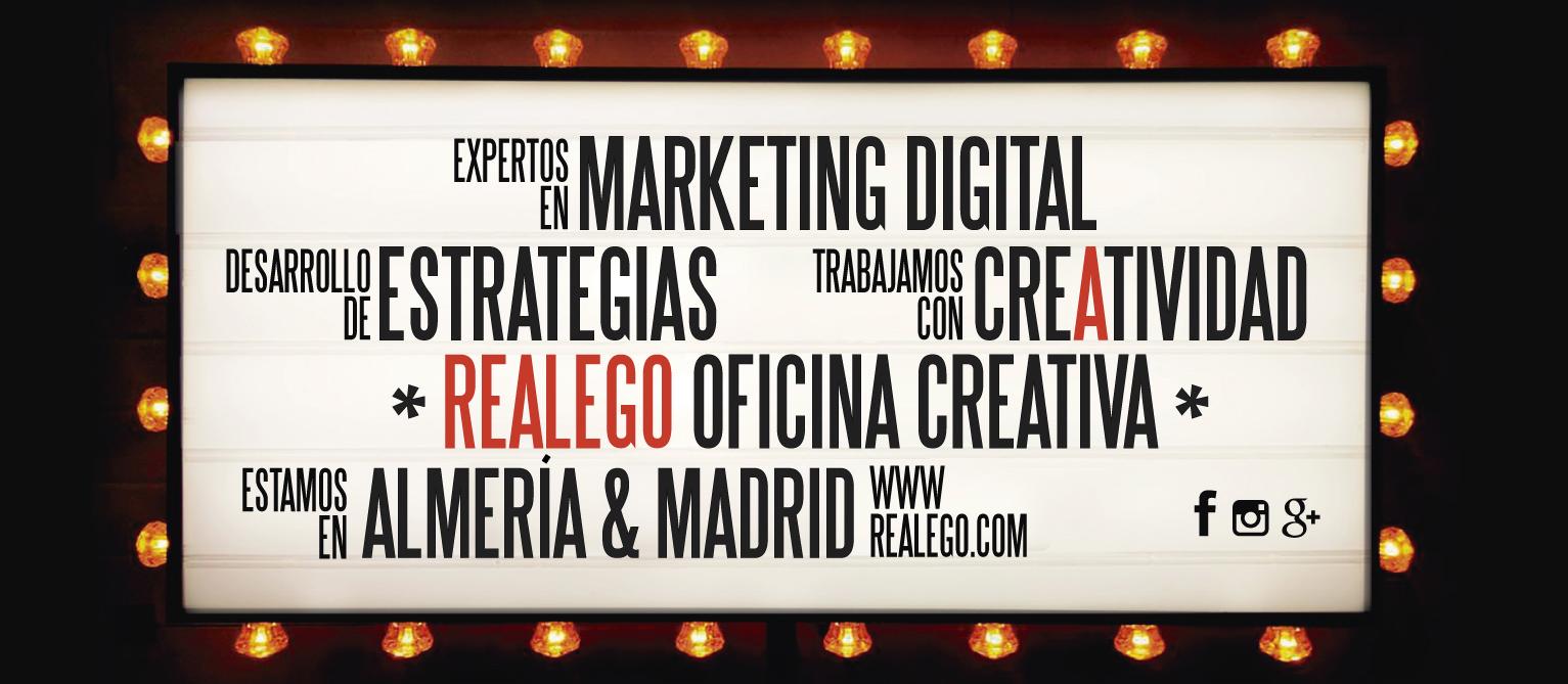 Realego Oficina Creativa - Expertos en Marketing Digital Almería