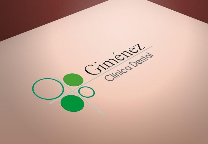 Diseño de logotipo para Gímenez Clínica Dental Almería