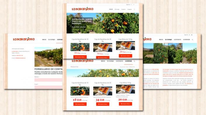 Tienda online de La Naranjera Venta de naranjas online