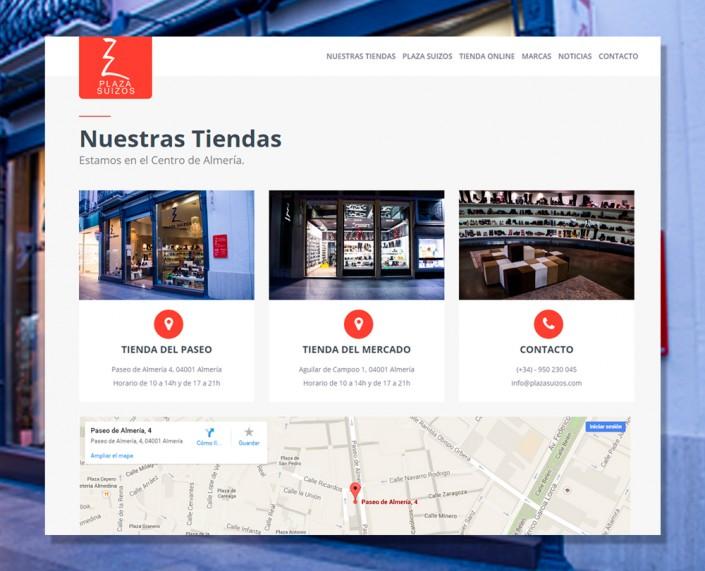Tienda Onlinepara Plaza Suizos Zapatería Almería