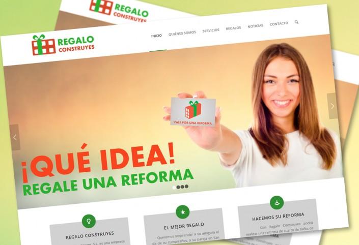 Diseño Web Regalo Construyes-Web de reformas Almería