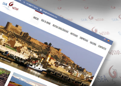 Sea and Wine – Web turismo Almería