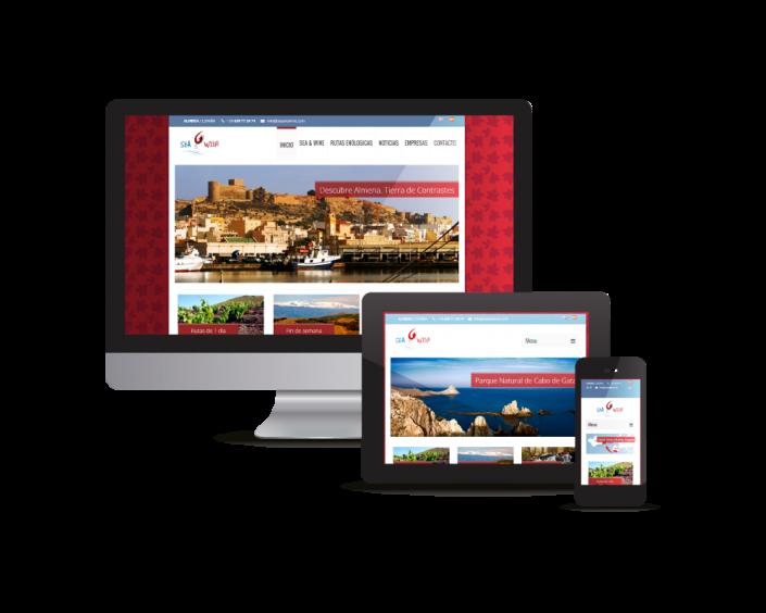 Desarrollo de Web adaptativa para Sea and Wine