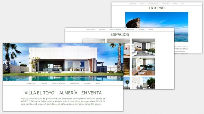 Diseño Web para Villa el Toyo