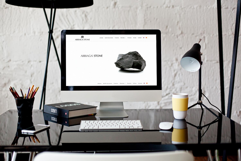 Diseño de la web para Arriaga Stone Mármoles Almería