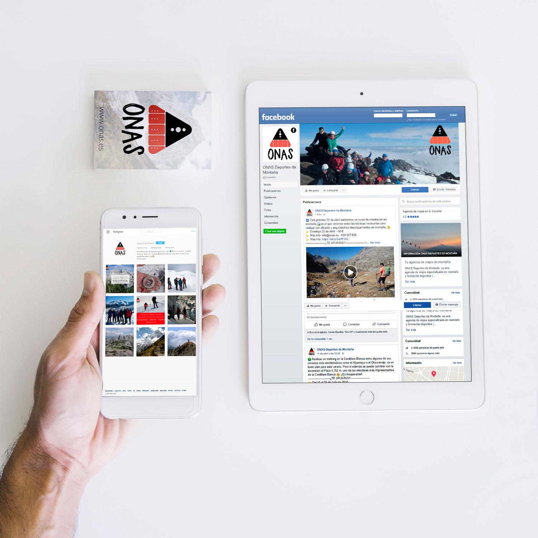 Estrategia en Redes Sociales para ONAS Deportes de Montaña
