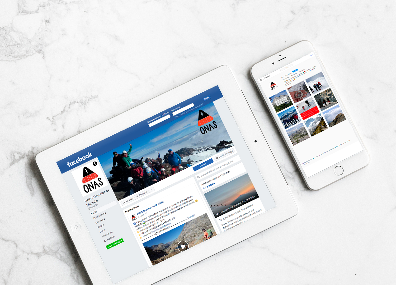 Presencia en Social Media para ONAS Deportes de Montaña