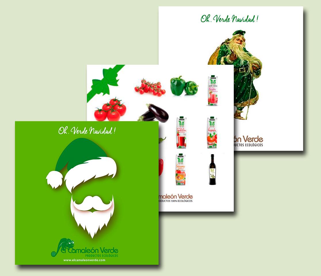 Campañas publicitarias de Navidad para El Camaleón Verde