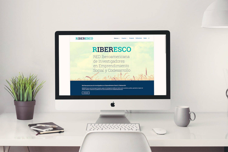 Diseño de página Web para Riberesco