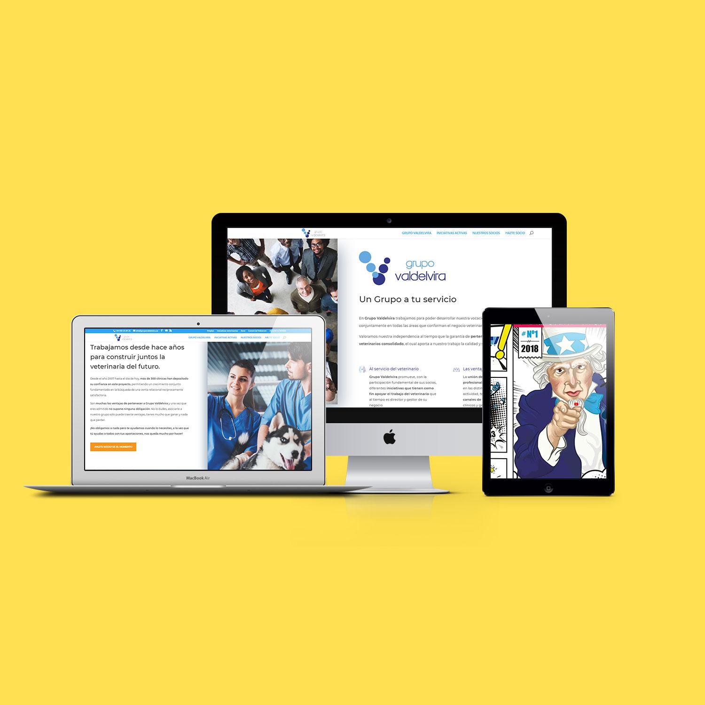 Creación Web Adaptativa para Grupo Valdevira
